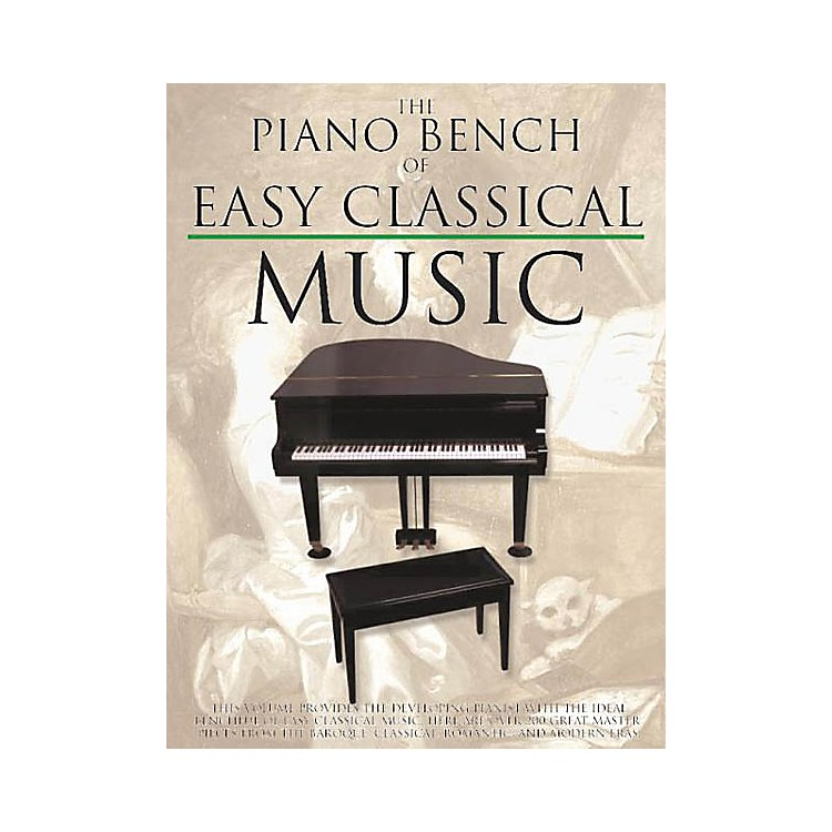 Music Sales The Piano Bench of Easy Classical Music Music Sales America Series Softcover