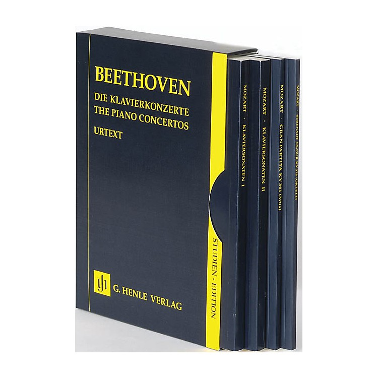 G. Henle VerlagThe Piano Concertos No. 1-5 in a Slipcase (Study Score) Henle Study Scores Series Softcover