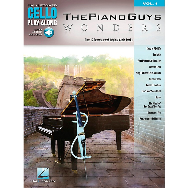 Hal Leonard The Piano Guys - Wonders Cello Play-Along Volume 1
