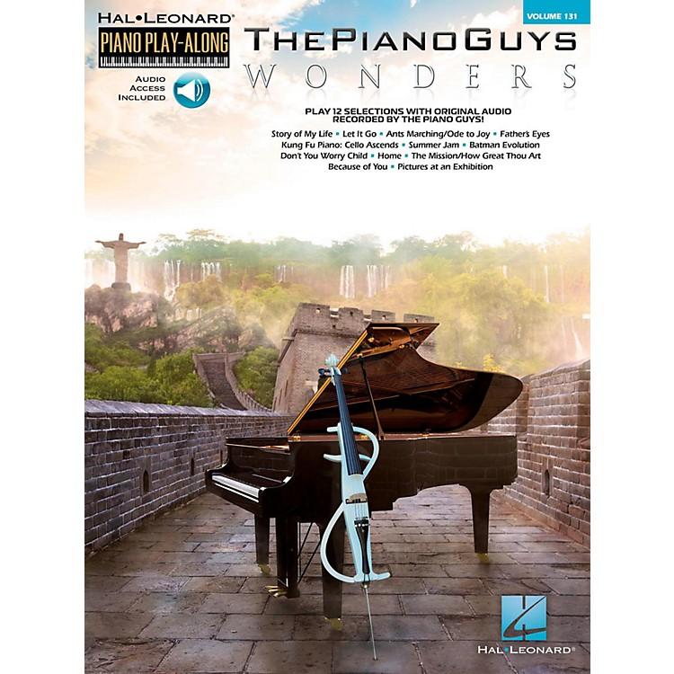 Hal LeonardThe Piano Guys - Wonders Piano Play-Along Volume 131 Book/Online Audio