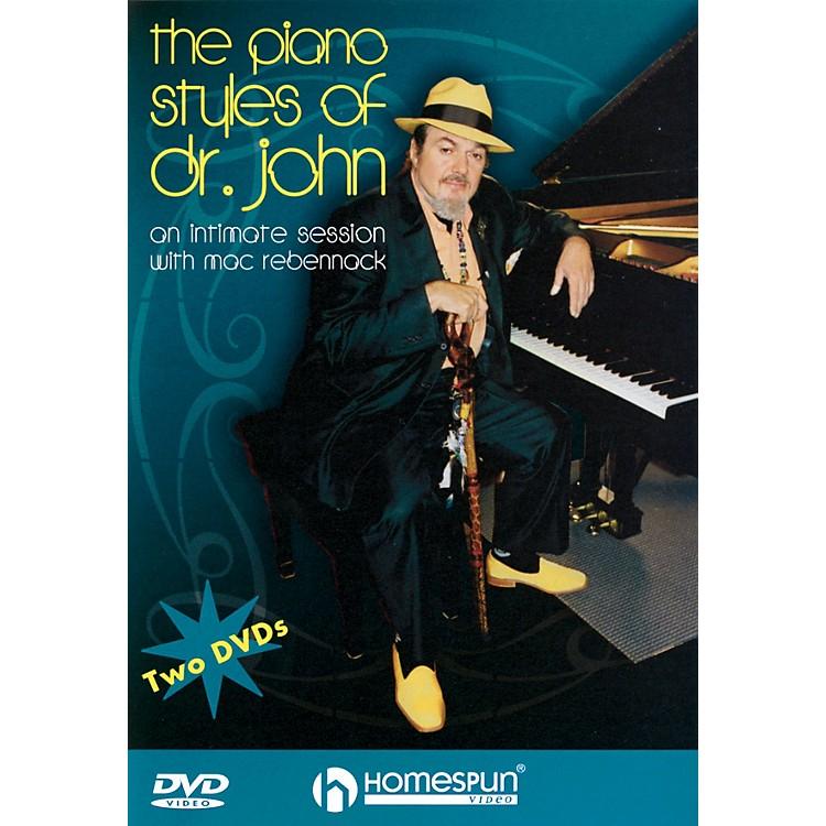 HomespunThe Piano Styles of Dr. John - 2-DVD Set Homespun Tapes Series DVD Written by Dr. John Rebennack