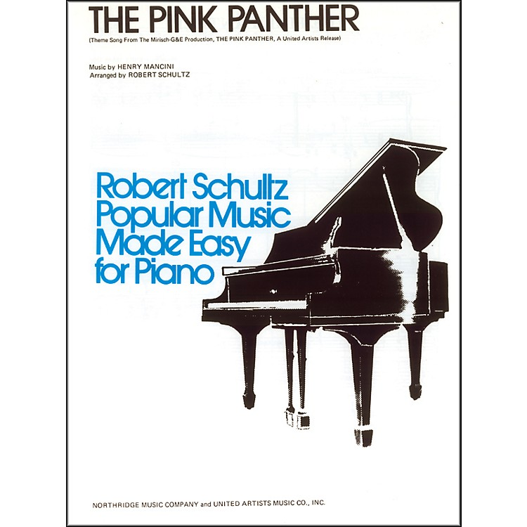 Alfred The Pink Panther Early Intermediate Piano Sheet