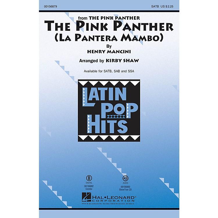 Hal LeonardThe Pink Panther (La Pantera Mambo) ShowTrax CD Arranged by Kirby Shaw