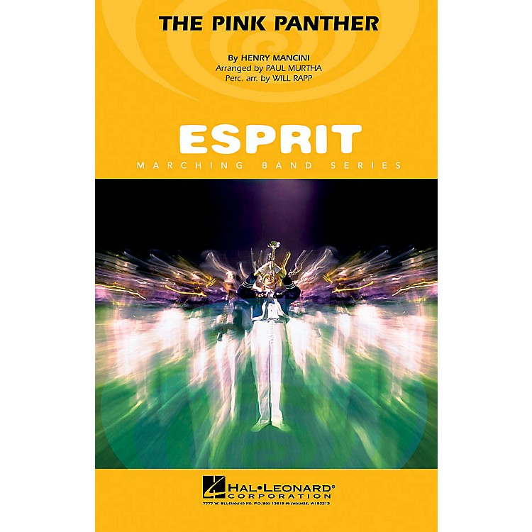 Hal LeonardThe Pink Panther Marching Band Level 3 Arranged by Paul Murtha