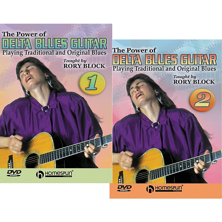 Homespun The Power of Delta Blues Guitar - 2 DVD Set
