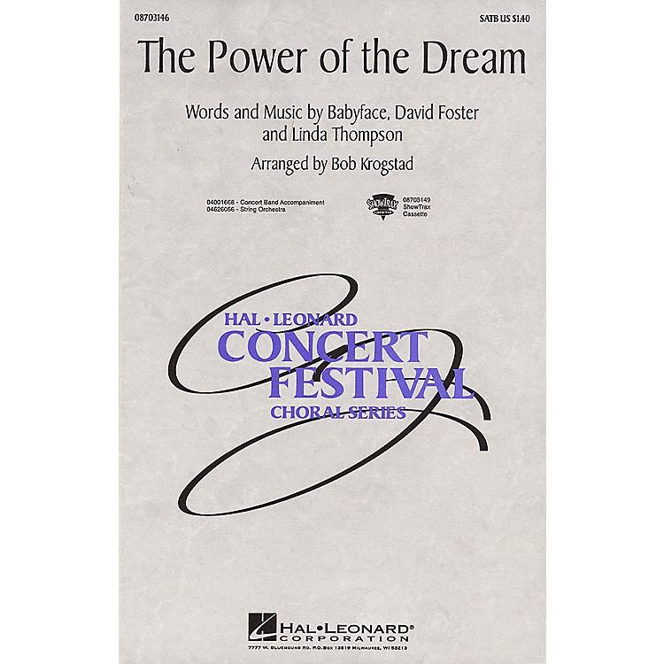Hal LeonardThe Power of the Dream 2-Part Arranged by Bob Krogstad