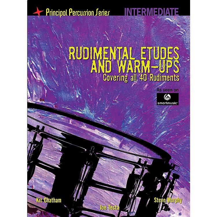 Hal LeonardThe Principal Percussion Series Inter Level - Rudimental Etudes & Warm-Ups Covering All 40 Rudiments