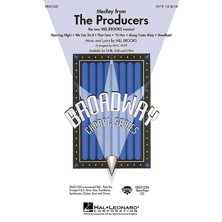 Hal LeonardThe Producers (Medley) Combo Parts Arranged by Mac Huff
