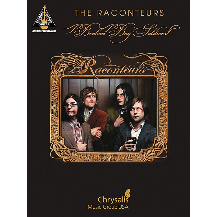 Hal LeonardThe Raconteurs - Broken Boy Soldiers Guitar Recorded Version Series Softcover Performed by The Raconteurs