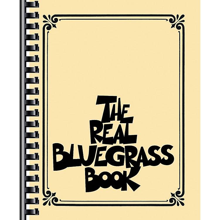 Hal LeonardThe Real Bluegrass Book - Fake Book