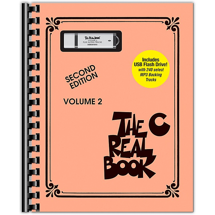 Hal LeonardThe Real Book - Volume 2 Real Book Play-Along Series Softcover with USB