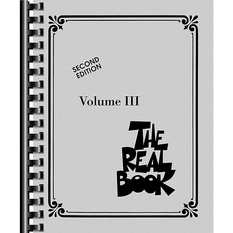 Hal LeonardThe Real Book - Volume 3 (C Edition)