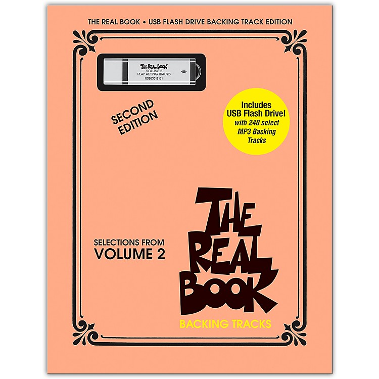 Hal LeonardThe Real Book Backing Tracks - Selections From Volume 2, Second Edition on USB Flash Drive