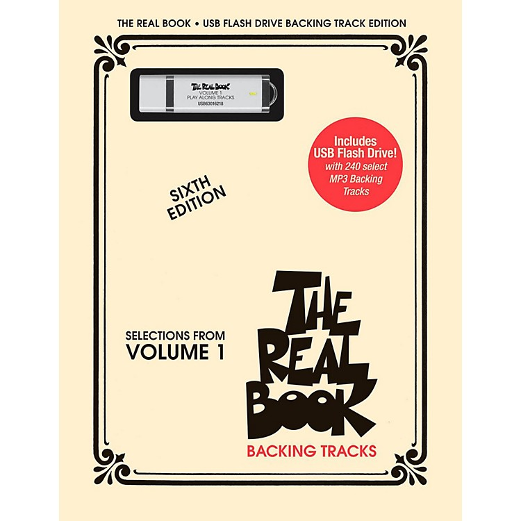 Hal Leonard The Real Book Backing Tracks, Volume 1 (USB Flash Drive)