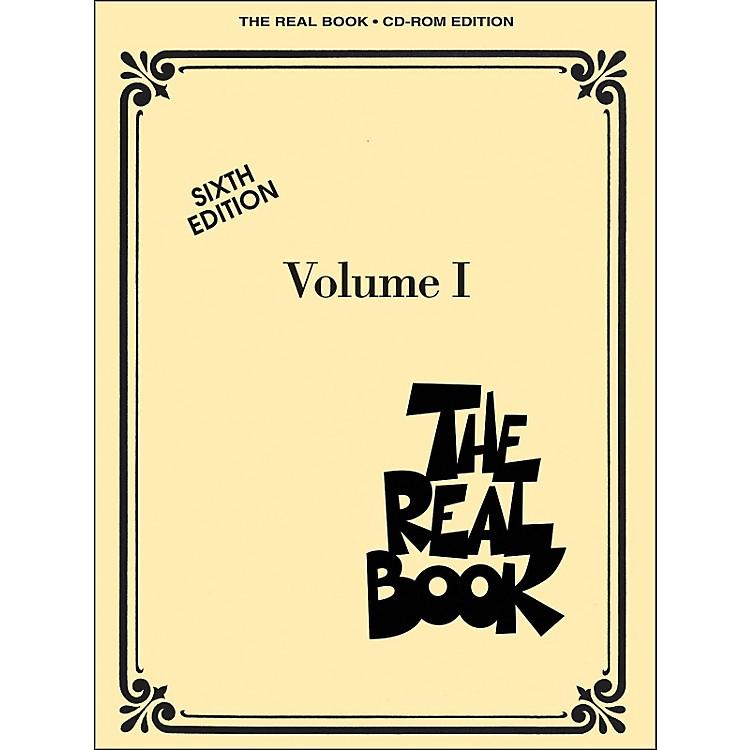 Hal LeonardThe Real Book Volume 1 Sixth Edition C Instruments CD-Rom/Pkg