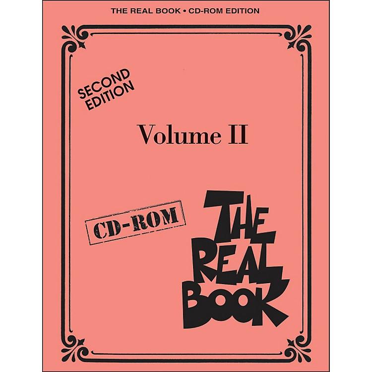 Hal LeonardThe Real Book Volume 2 Second Edition C Instruments CD-Rom/Pkg