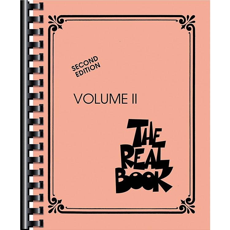 Hal LeonardThe Real Book Volume 2 Second Edition C Instruments