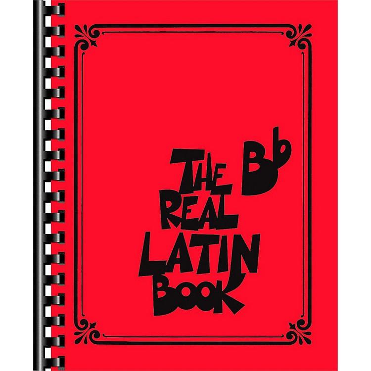 Hal LeonardThe Real Latin Book - B Flat Edition Fake Book