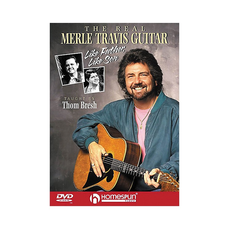 Homespun The Real Merle Travis Guitar (DVD)