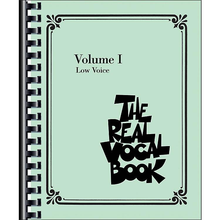 Hal LeonardThe Real Vocal Book - Volume 1 Low Voice