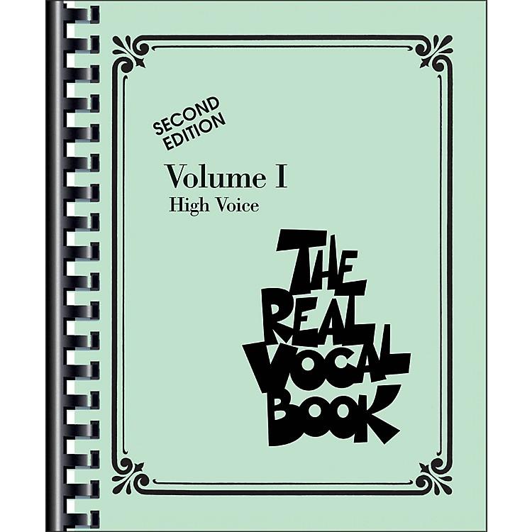 Hal LeonardThe Real Vocal Book Volume 1 High Voice