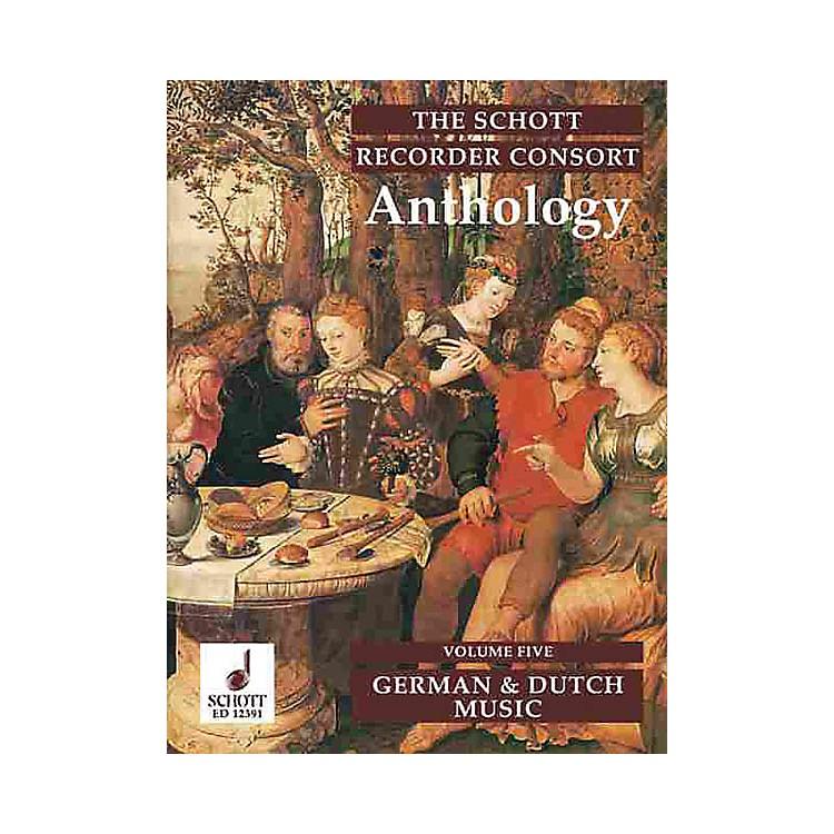 SchottThe Recorder Anthology - Volume 5 Schott Series by Various Arranged by Bernard Thomas