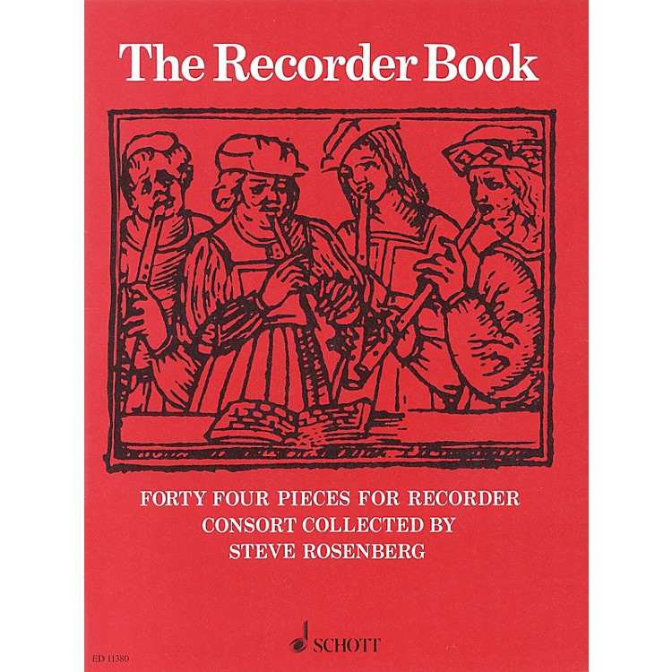 Schott The Recorder Book Schott Series by Various Arranged by Steve Rosenberg