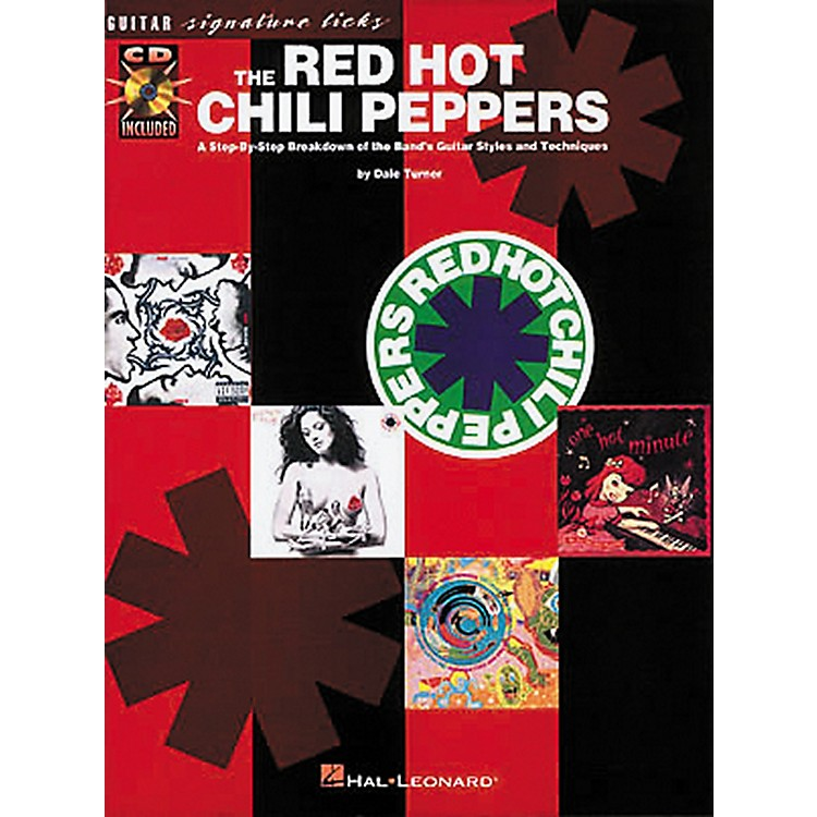 Hal Leonard The Red Hot Chili Peppers Guitar Signature Licks Book with CD