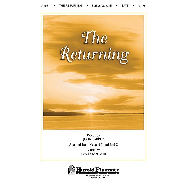 Shawnee PressThe Returning SATB composed by John Parker