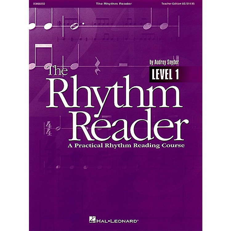 Hal LeonardThe Rhythm Reader - A Practical Rhythm Reading Course Accompaniment CD