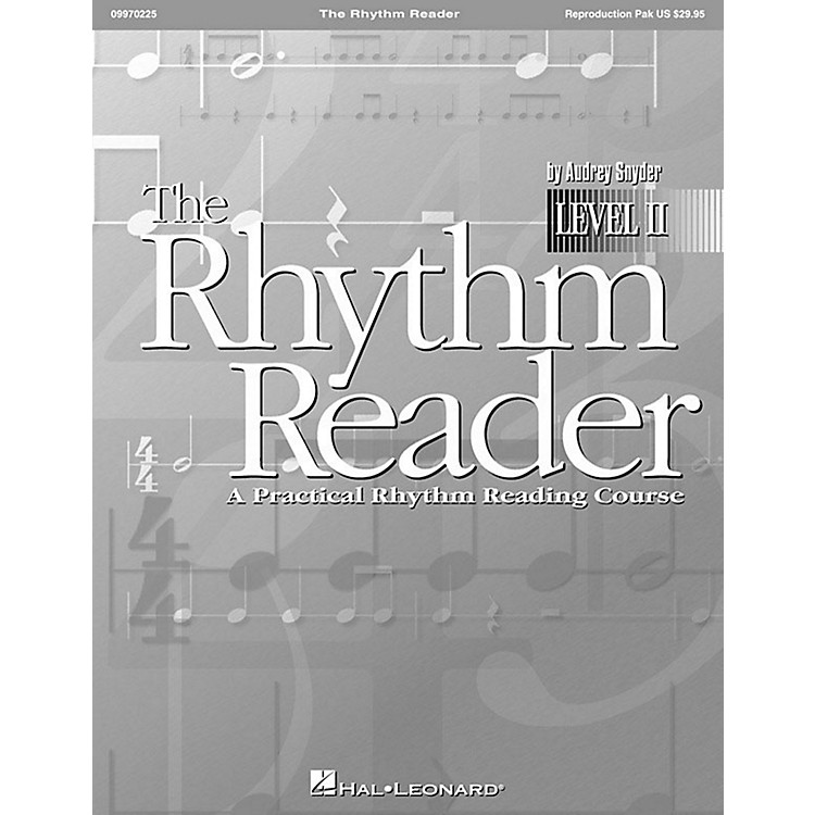 Hal LeonardThe Rhythm Reader II - A Practical Rhythm Reading Course Reproducible Pak