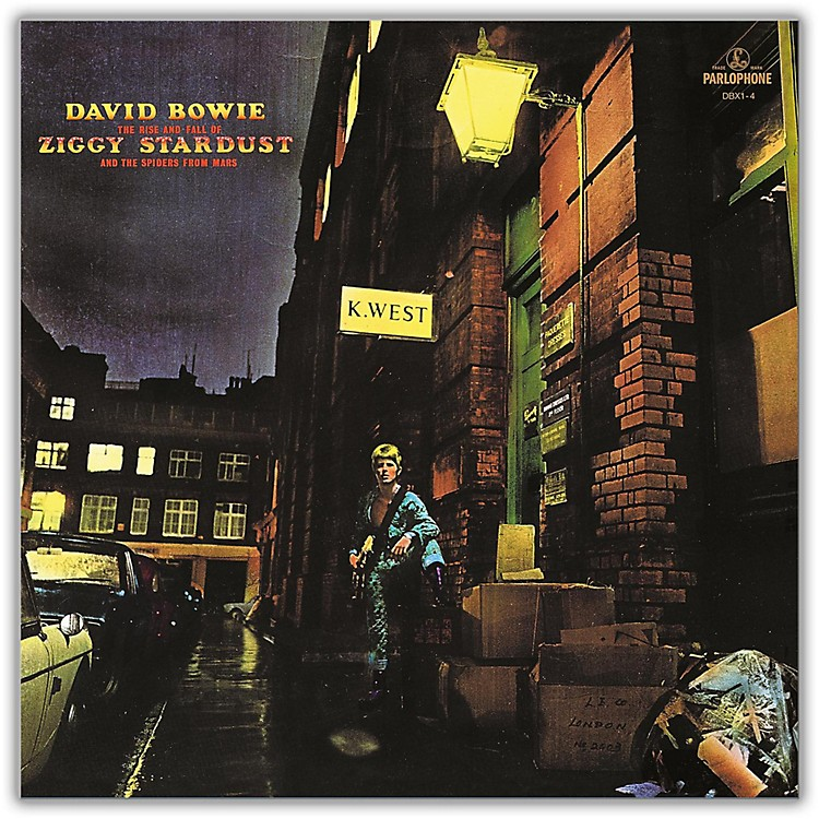 WEAThe Rise and Fall Of Ziggy Stardust And The Spiders From Mars Vinyl LP
