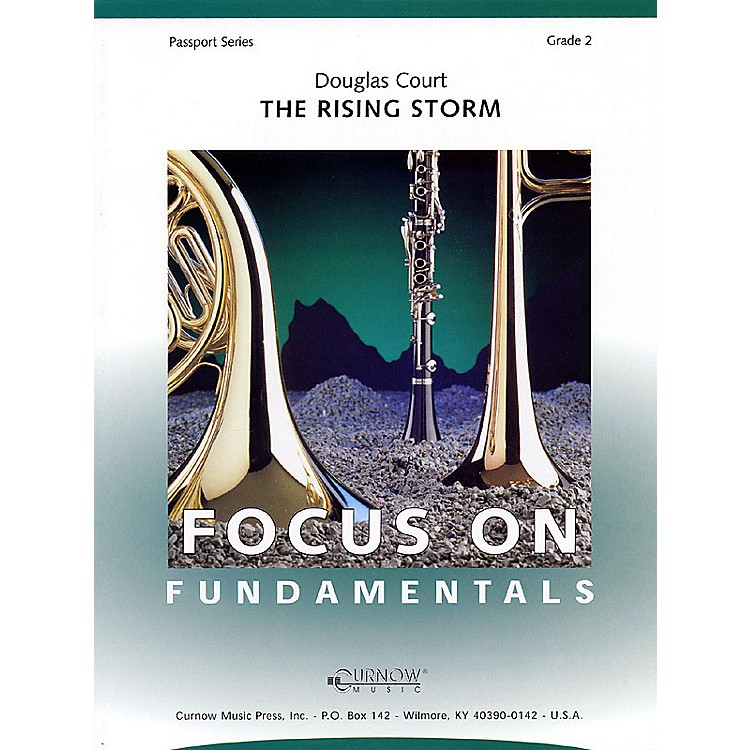 Curnow MusicThe Rising Storm (Grade 2 - Score Only) Concert Band Level 2 Composed by Douglas Court