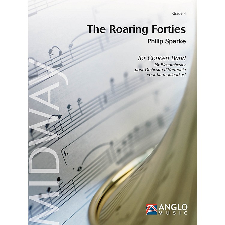Anglo Music PressThe Roaring Forties (Grade 4 - Score Only) Concert Band Level 4 Composed by Philip Sparke