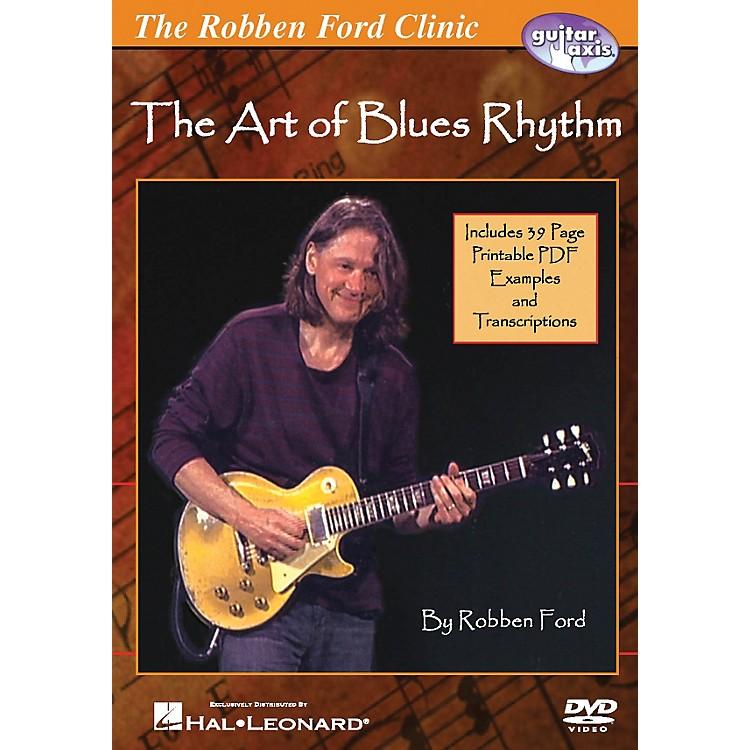 Hal LeonardThe Robben Ford Clinic - The Art of Blues Rhythm Guitar DVD