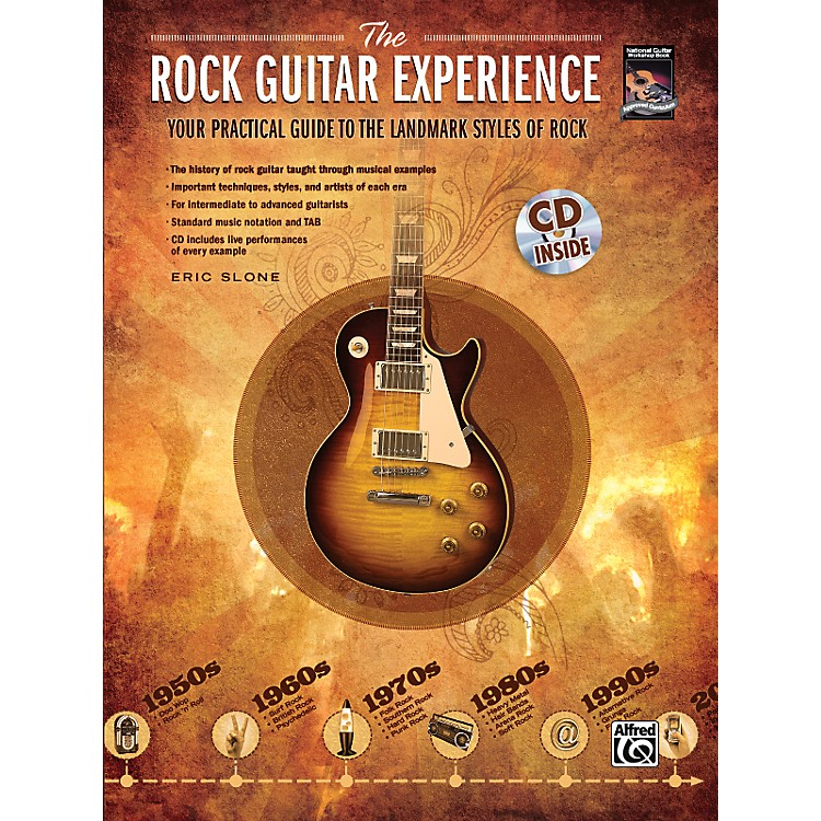 AlfredThe Rock Guitar Experience (Book/CD)