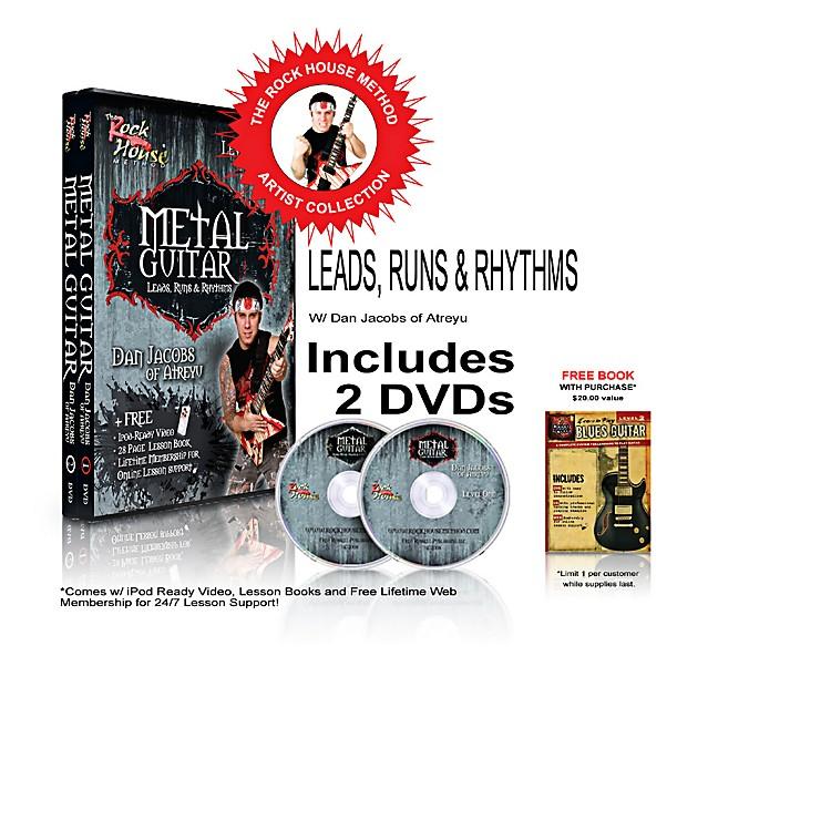 Hal LeonardThe Rock House Method - Dan Jacobs DVD Collection