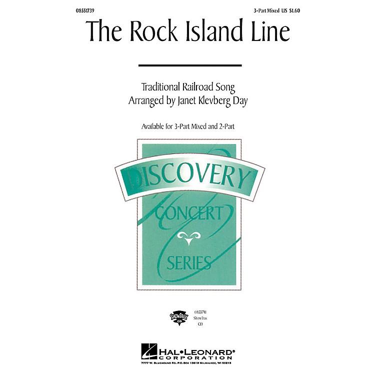 Hal LeonardThe Rock Island Line 3-Part Mixed arranged by Janet Klevberg Day
