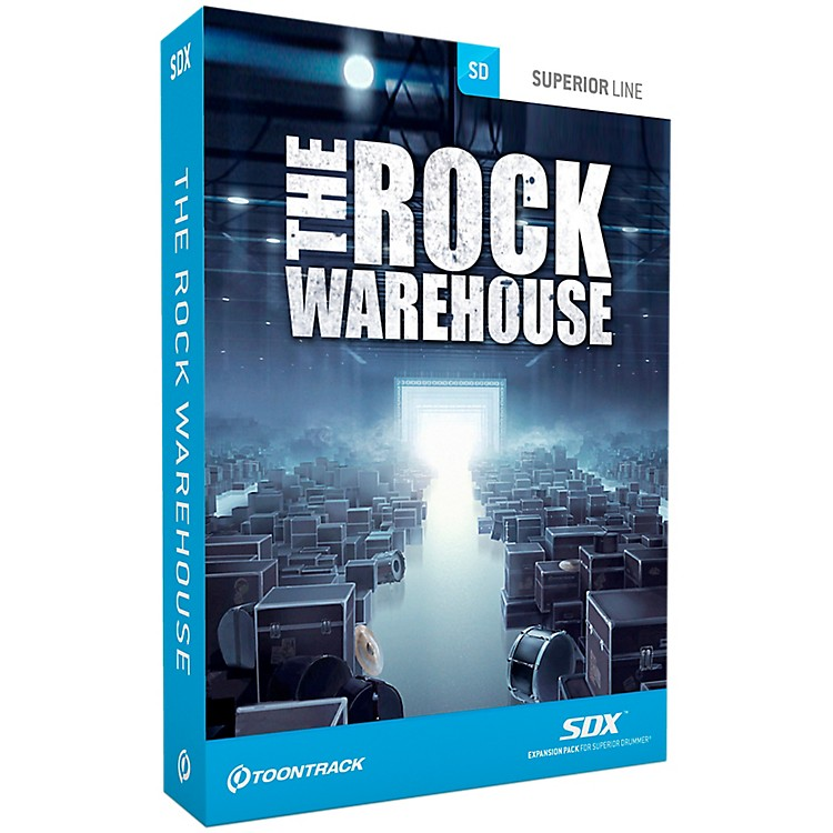 Toontrack The Rock Warehouse SDX
