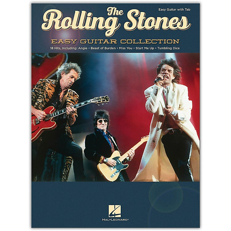 Hal Leonard The Rolling Stones - Easy Guitar Collection Songbook
