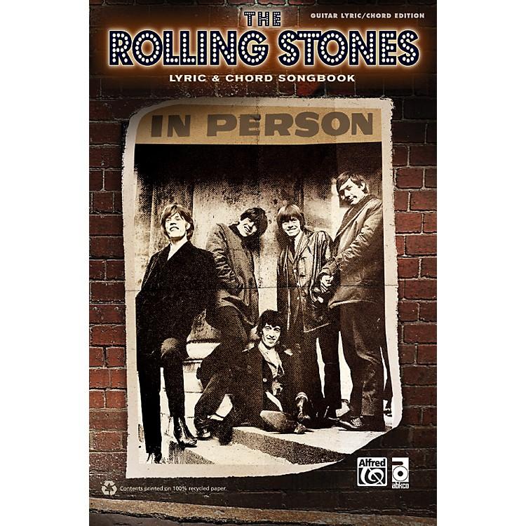 AlfredThe Rolling Stones - Lyric & Chord Songbook