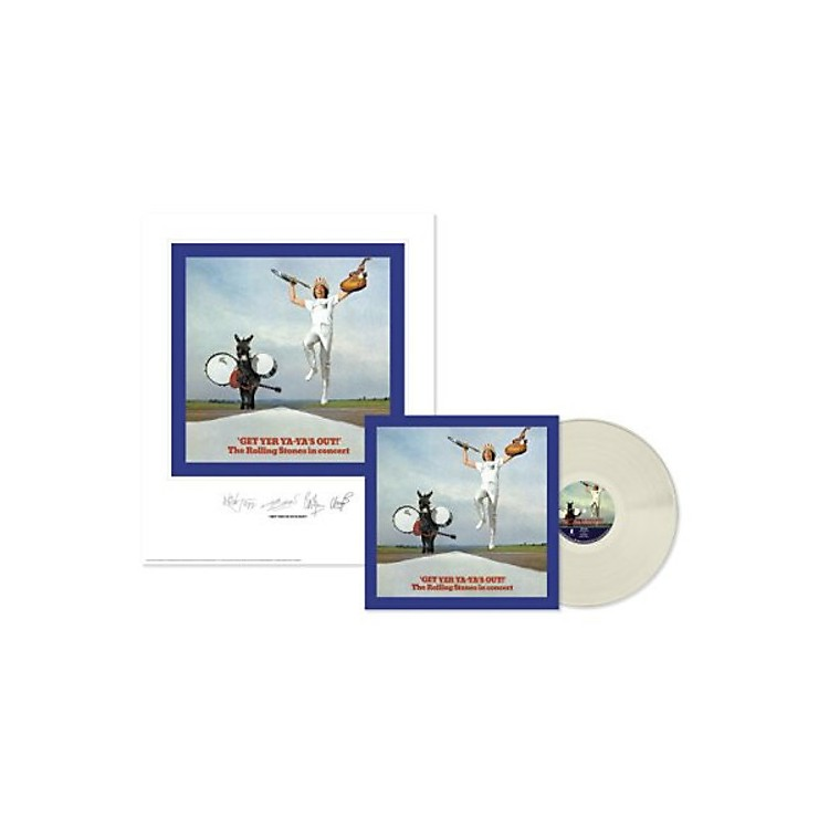 AllianceThe Rolling Stones - Rolling Stones: Get Yer Ya-ya's Out (Lithograph) (Clear Vinyl)