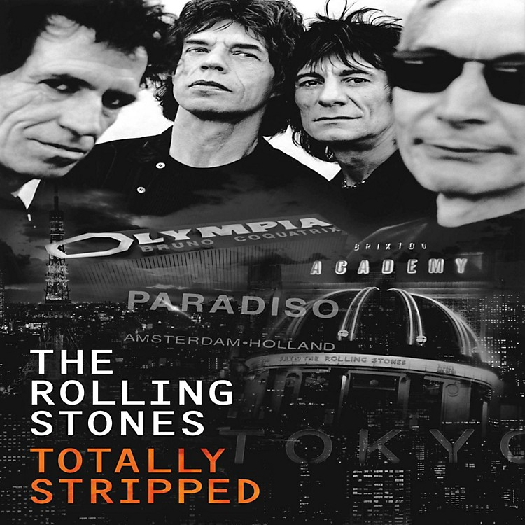Universal Music Group The Rolling Stones - Totally Stripped [2LP/DVD]