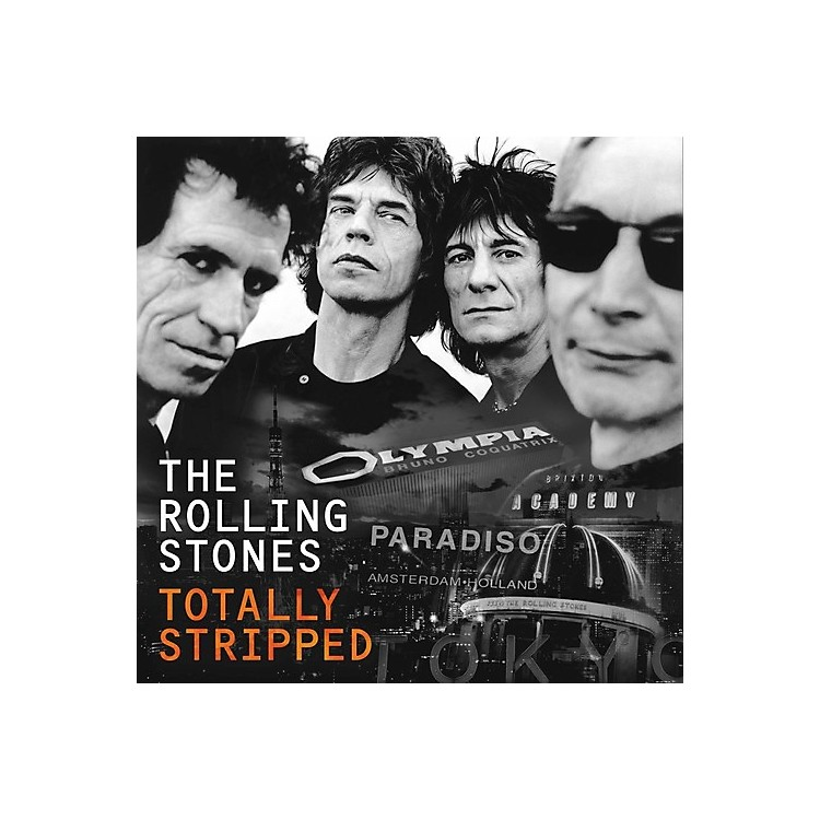Alliance The Rolling Stones - Totally Stripped Vinyl 2LP Set and DVD