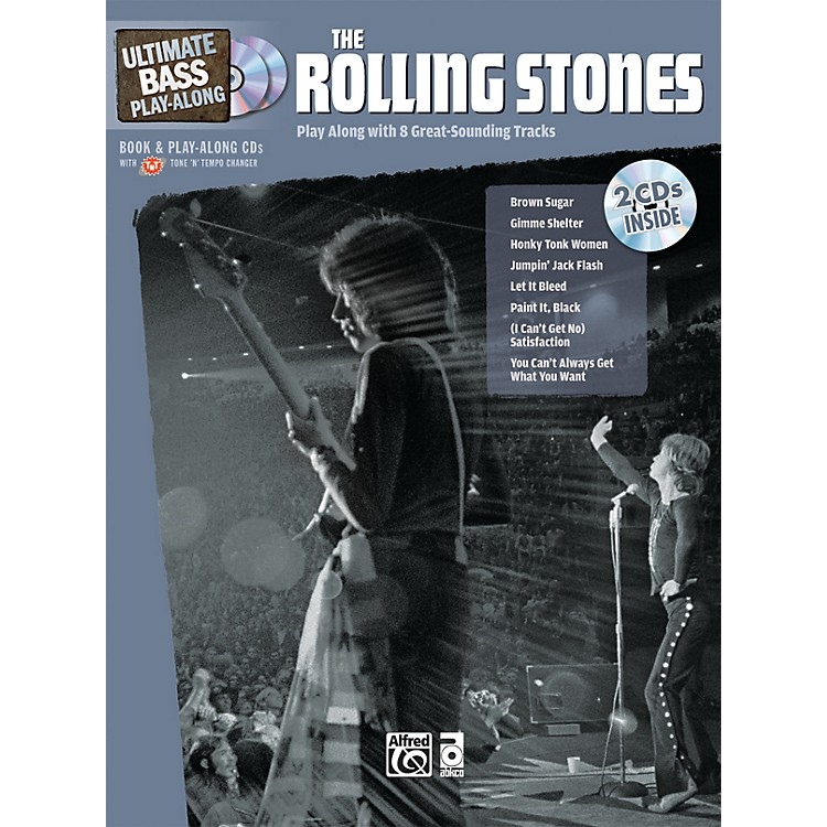 AlfredThe Rolling Stones Ultimate Bass Play-Along (Book/2 CDs)