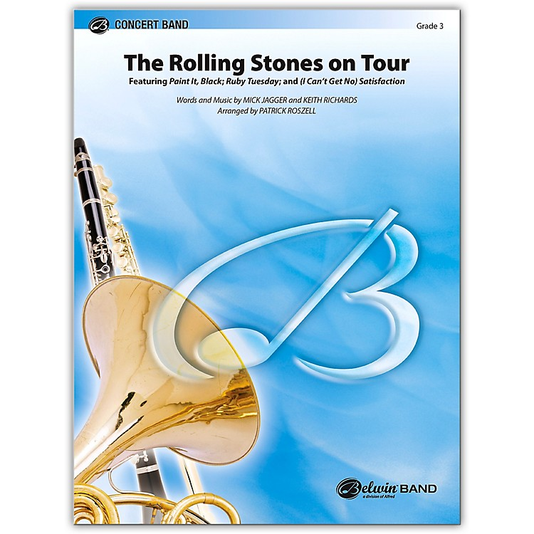 Alfred The Rolling Stones on Tour Concert Band Grade 3 Set