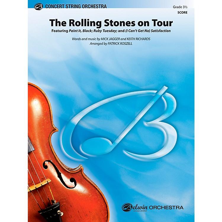AlfredThe Rolling Stones on Tour Concert String Orchestra Grade 3.5 Set