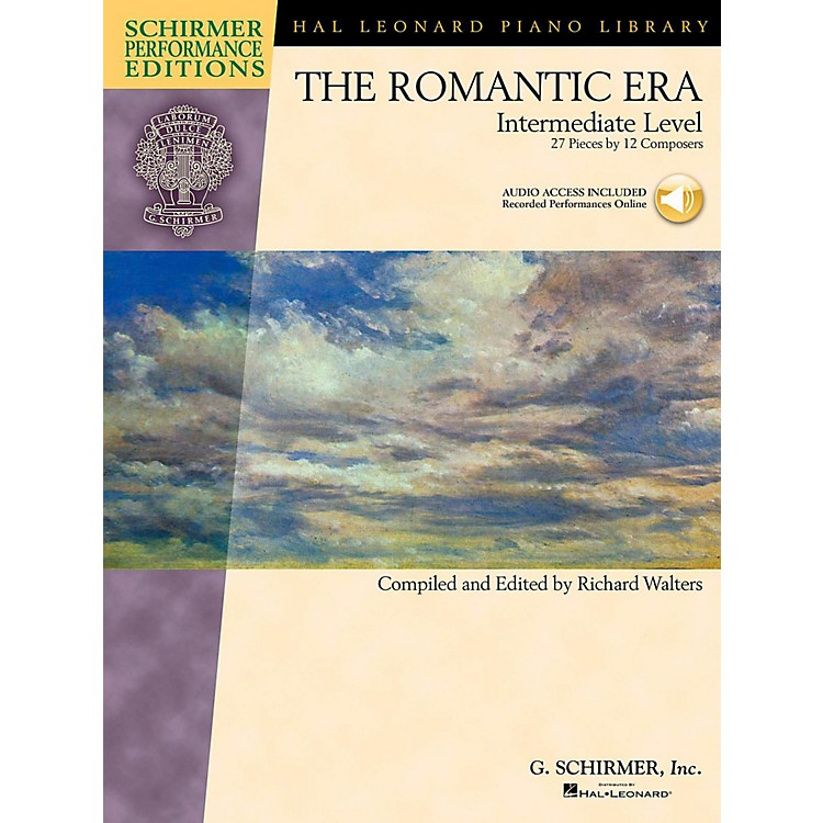 G. Schirmer The Romantic Era - Intermediate Level - Schirmer Performance Editions Book Online Audio Access