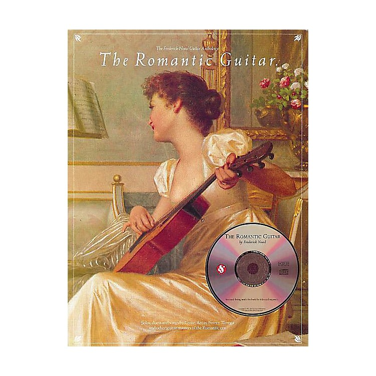 Music Sales The Romantic Guitar Music Sales America Series Softcover with CD