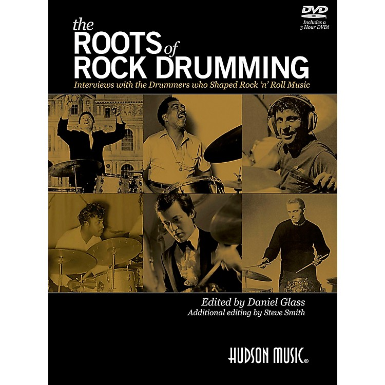 Hudson Music The Roots of Rock Drumming Book/DVD